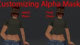 Customizing Alpha Masks