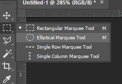 Elliptical Marquee Tool